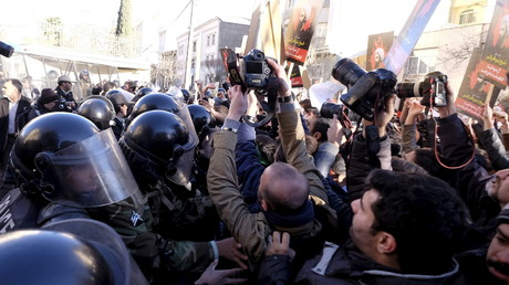 Tensions en Iran