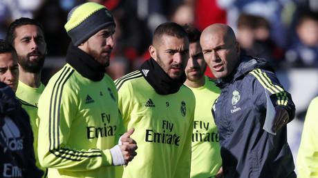 Zinédine Zidane a dirigé, ce matin, son premier entraînement à la tête du Real Madrid