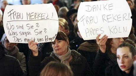 Manifestation à Cologne