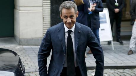 L'ancien Président Nicolas Sarkozy