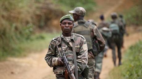 Des soldats de FARDC.