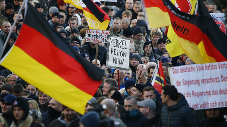 Les manifestations en Allemagne
