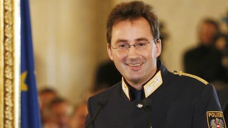 Le chef de police de Vienne, Gerhard Puerstl