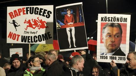 Pegida reprend des couleurs après les événements du nouvel an à Cologne.