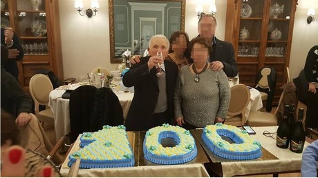 Le parrain de la mafia a fêté son anniversaire en grande pompe