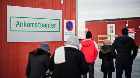 Un centre pour demandeurs d'asile en Norvège