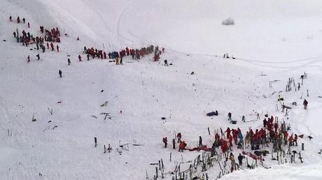 Une photo des recherches en cours dans les Alpes
