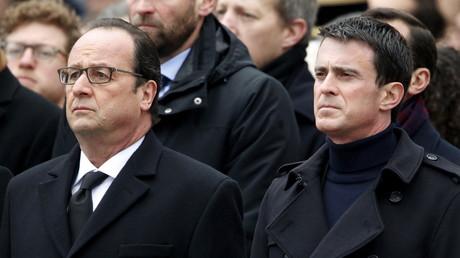 Le président François Hollande et le Premier ministre Manuel Valls