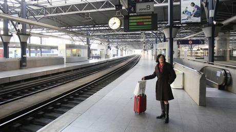 La gare ferroviaire de Bruxelles