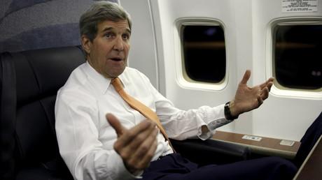 John Kerry n'est pas content.