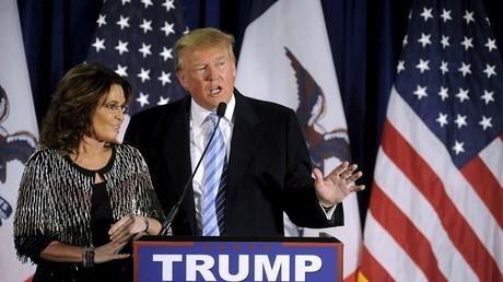 Le «pire duo de l'histoire», Donald Trump et Sarah Palin, ne fait pas l'unanimité