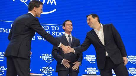 Manuel Valls au forum de Davos