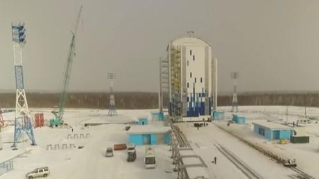 IMAGES EXCLUSIVES du nouveau cosmodrome de Vostotchny en Russie, vue d'en haut
