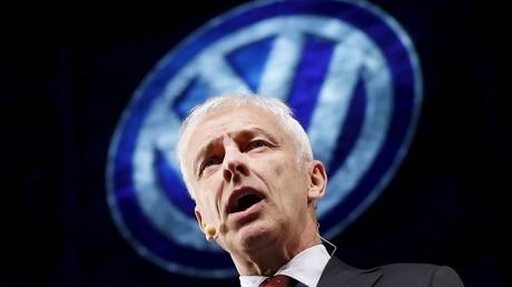 Le PDG de Volkswagen Matthias Müller.