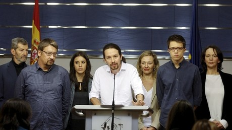 Pablo Iglesias, le leader de Podemos.