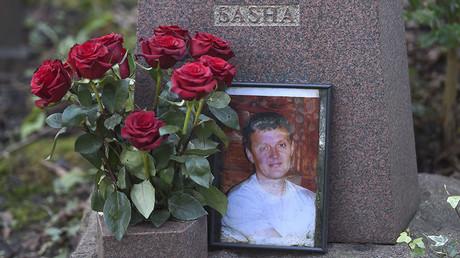 Le tombeau d'Alexandre Litvinenko à Londres