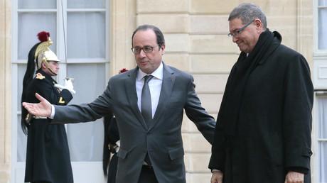 François Hollande et le Premier ministre tunisien