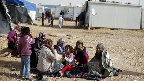 16 000 Syriens sont bloqués à la frontière avec la Jordanie