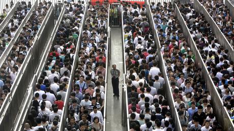 Les heures de pointe à Pékin