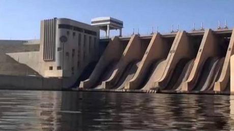 Le barrage de Taqba