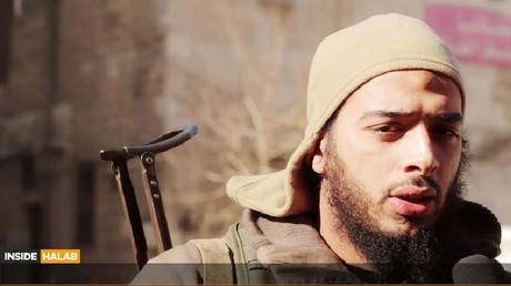 Salim Benghalem. Capture d'écran d'une vidéo de l'Etat islamique
