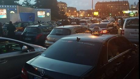 La grève des taxis