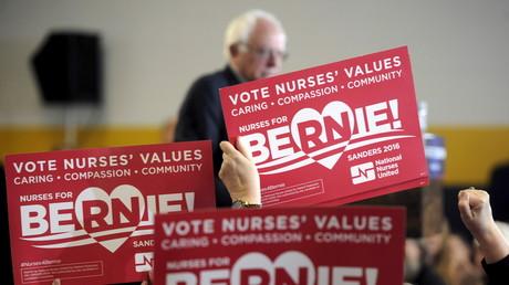 Bernie Sanders, l'autre surprise de cette campagne.