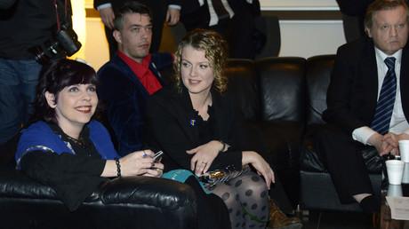 La député du Parti Pirate islandais Birgitta Jonsdottir en 2013