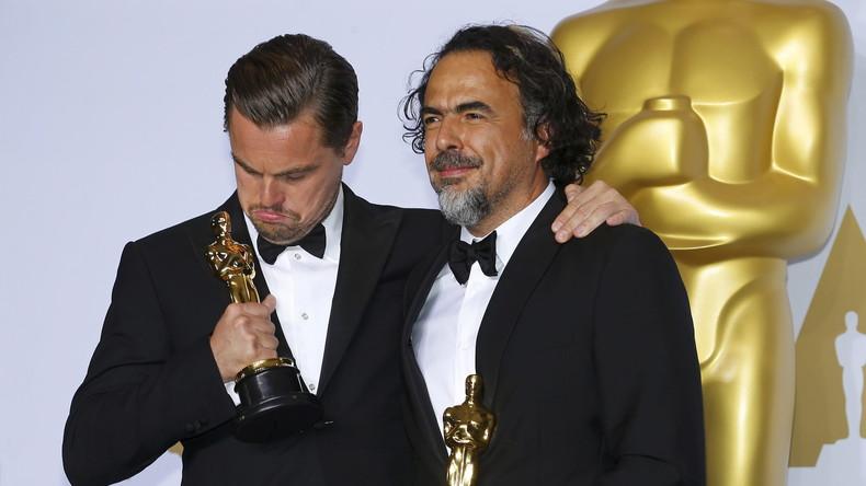 Leonardo Dicaprio Reçoit L Oscar Du Meilleur Acteur Les Internautes Soulagés Rt En Français
