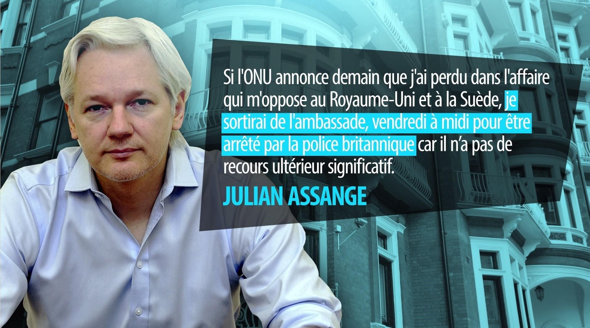 Julian Assange, ce lanceur d'alerte qui a changé le monde