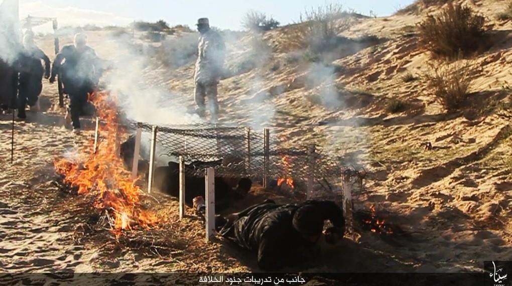 Daesh dévoile son nouveau camp d'entraînement dans le désert égyptien (PHOTOS)
