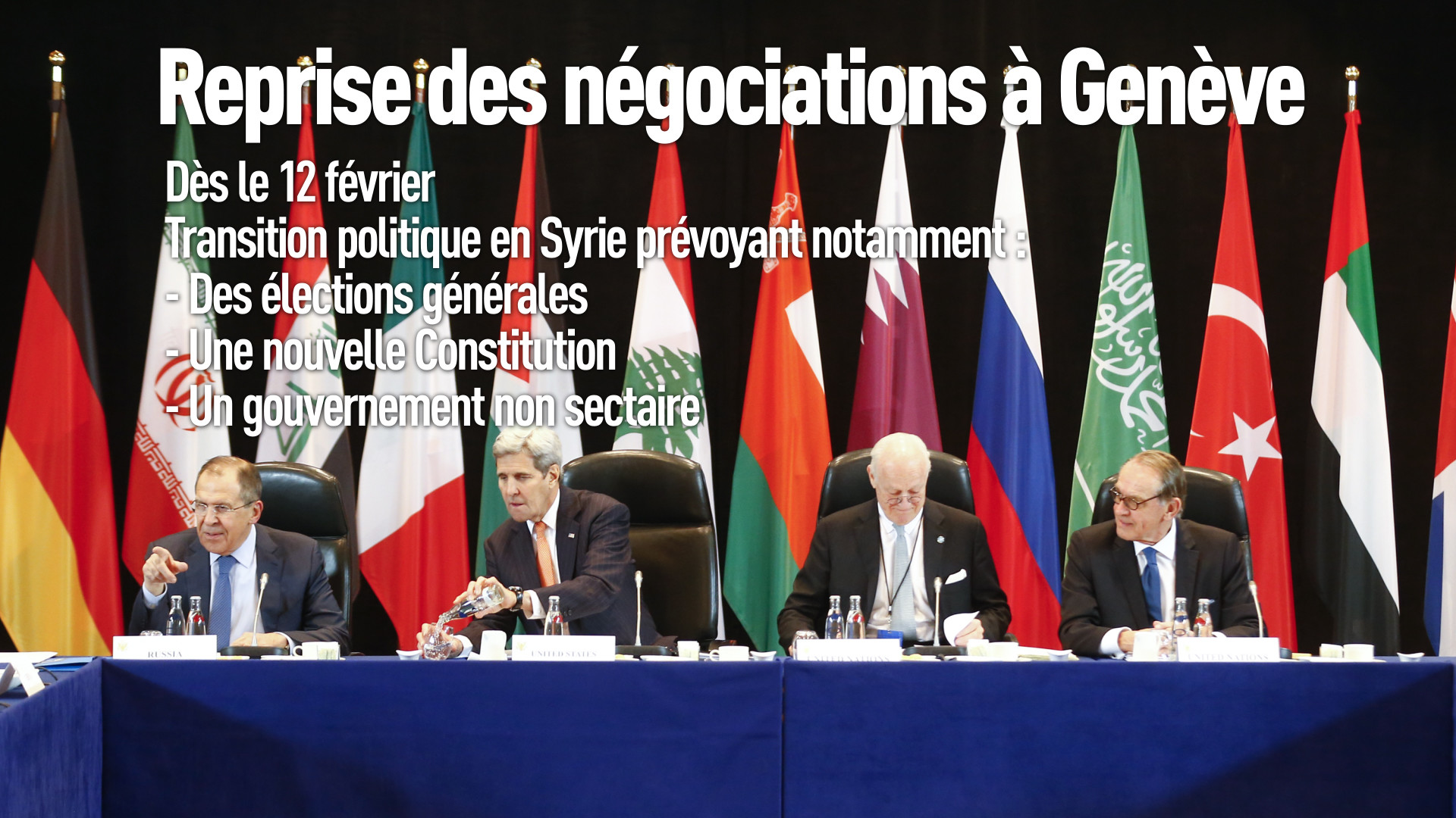 Ce qui a été décidé sur la Syrie lors des négociations à Munich (EN IMAGES)