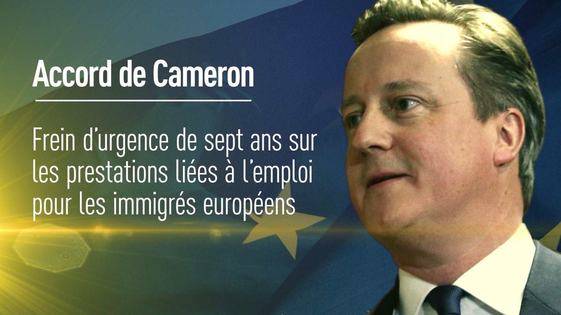 Cameron : le référendum sur le Brexit aura lieu le 23 juin