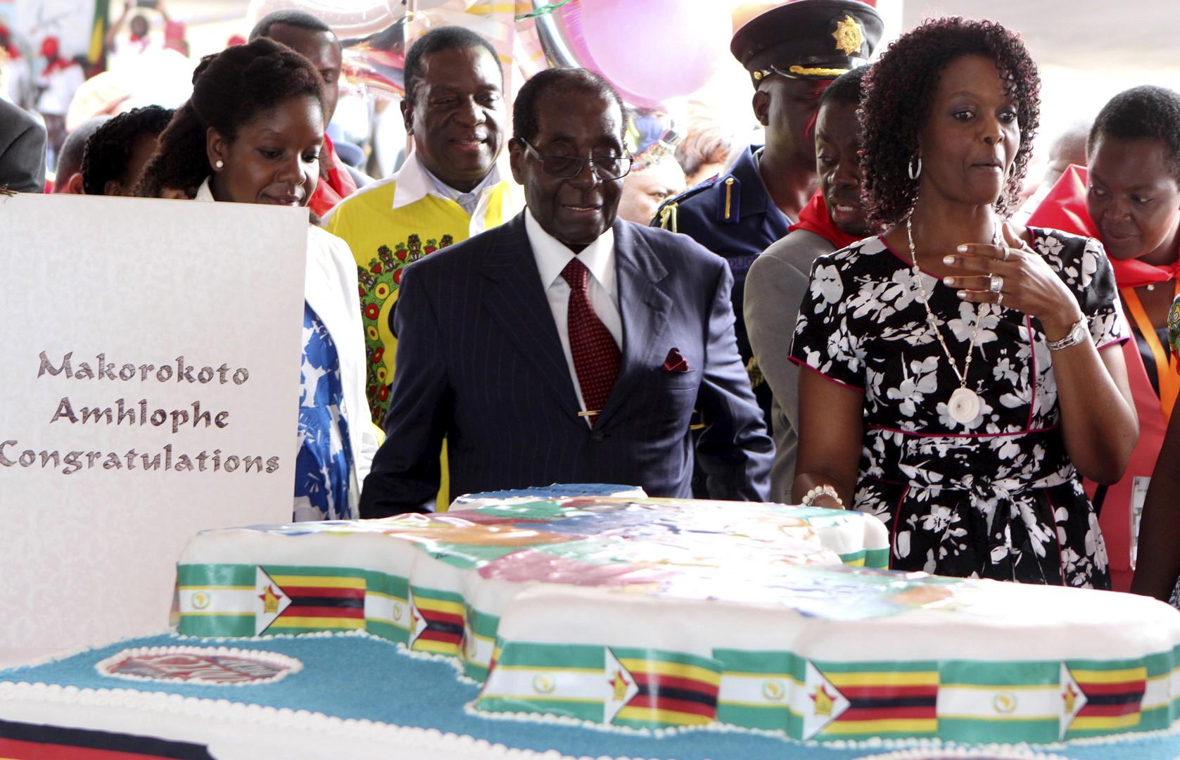 Zimbabwe: 50 000 convives pour le 92e anniversaire de Mugabe célébré en pleine sécheresse