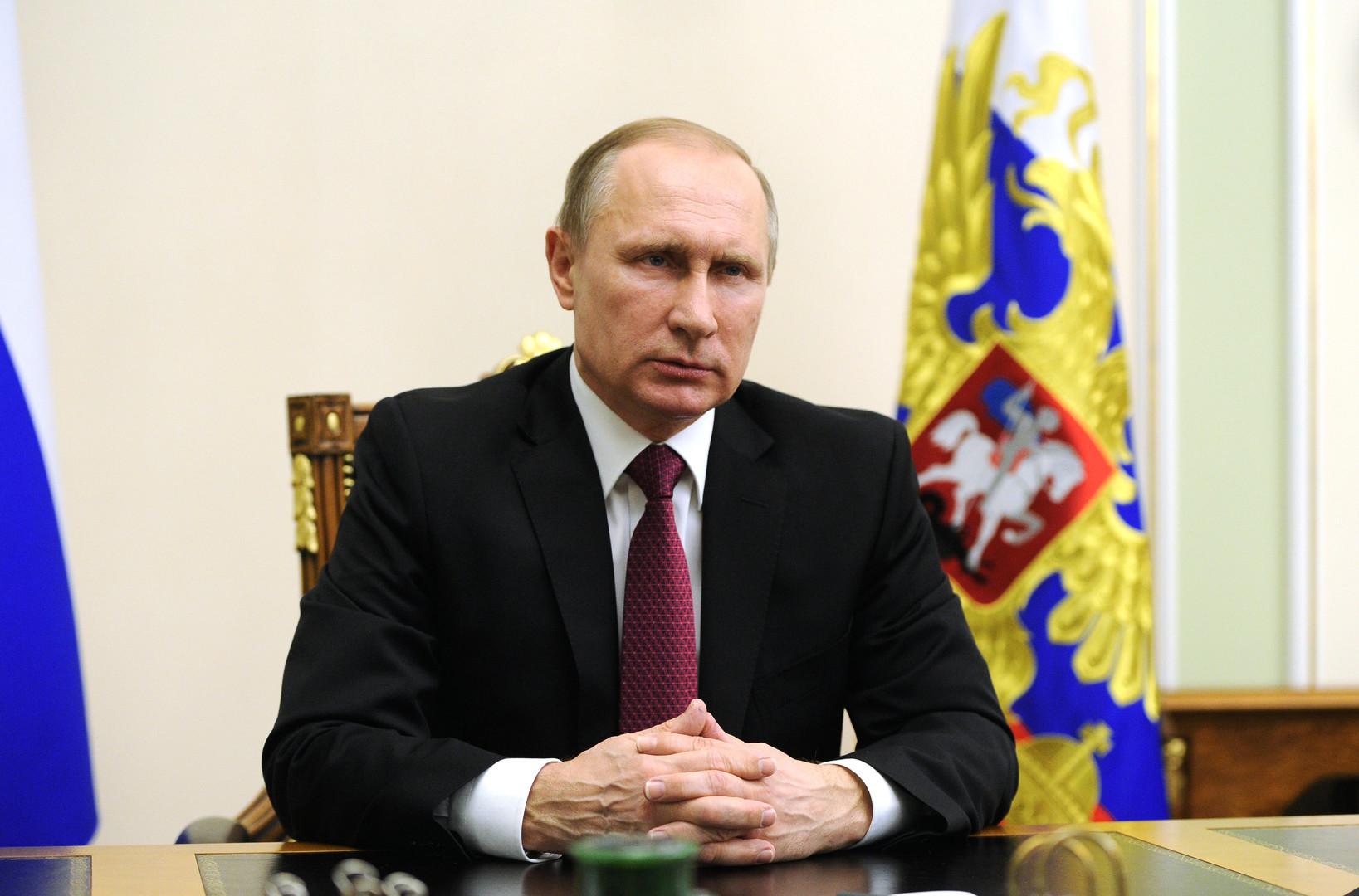 Le 22 février 2016, Vladimir Poutine annonce un accord entre la Russie et les Etats-Unis pour un cessez-le-feu en Syrie