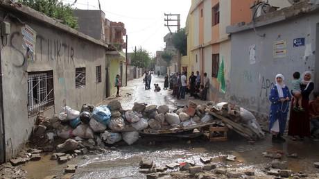 La ville turque de Cizre