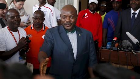 Le président du Burundi Pierre Nkurunziza