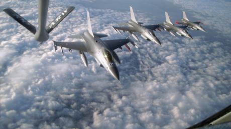 Les avions de chasse de l'US Air Force.