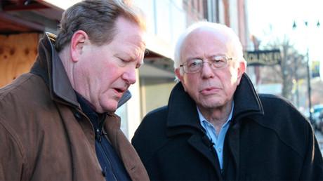 Bernie Sanders et Ed Schultz