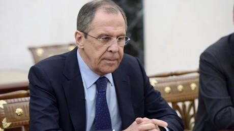Le ministre russe das Affaires étrangères Sergueï Lavrov