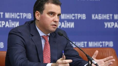 Le ministre de l'Economie ukrainien Aïvaras Abromavicius