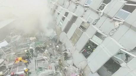 Terrible tremblement de terre à Taïwan, 23 morts et des bâtiments en ruines (PHOTOS, VIDEOS)