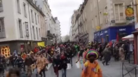 Rennes : de violents heurts éclatent lors de la manifestation contre le nouvel aéroport