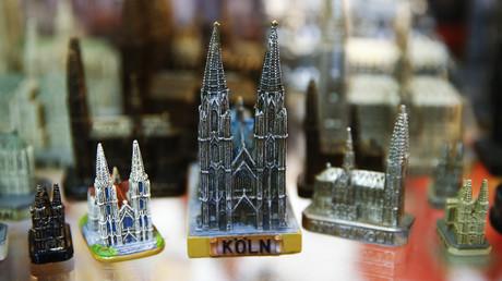 Figurines souvenir de la cathédrale de Cologne