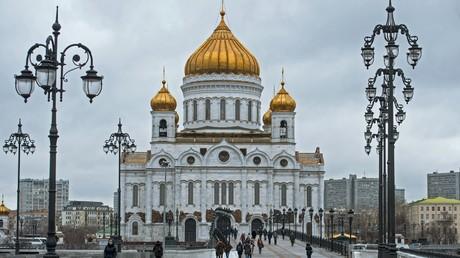 La Cathédrale du Christ-Sauveur de Moscou