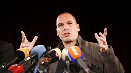 L'ancien ministre Varoufakis le 9 février à Berlin
