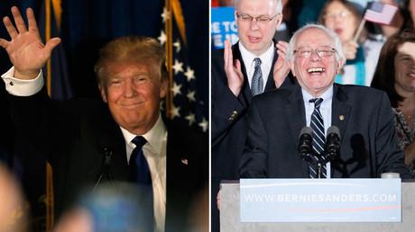 Bernie Sanders et Donald Trump