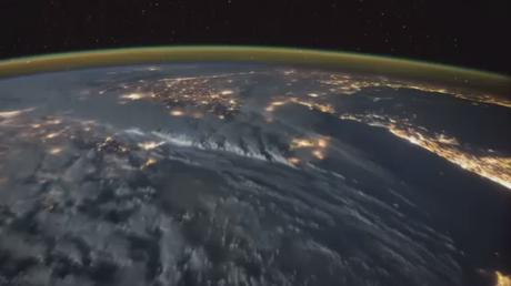Des orages électriques vus de l'espace
