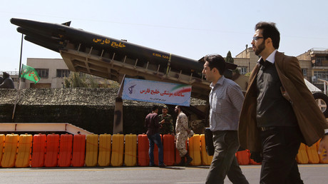 Missile balistique anti-navire exposé à Téhéran