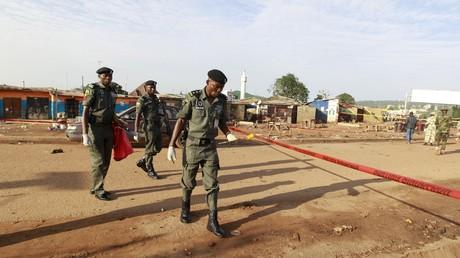 La police nigériane